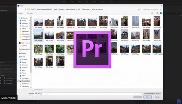 How to Quickly Make a Slideshow in Adobe Premiere Pro CC (2018)