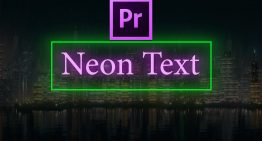 How to Create Neon Text in Adobe Premiere Pro CC (2018)