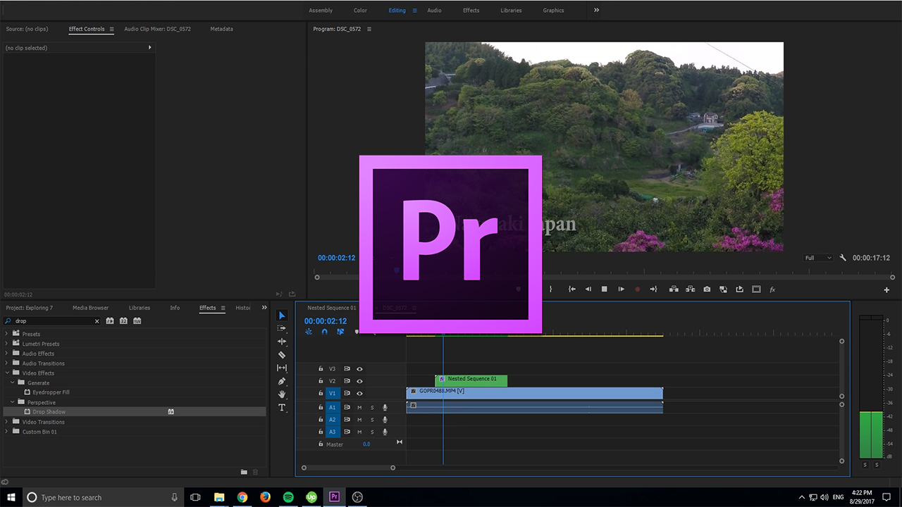 How to Create Text Shine in Adobe Premiere Pro CC (2017) - AdobeMasters
