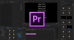 How to Create Scrolling Credits with the Text Tool in Premiere Pro 2017