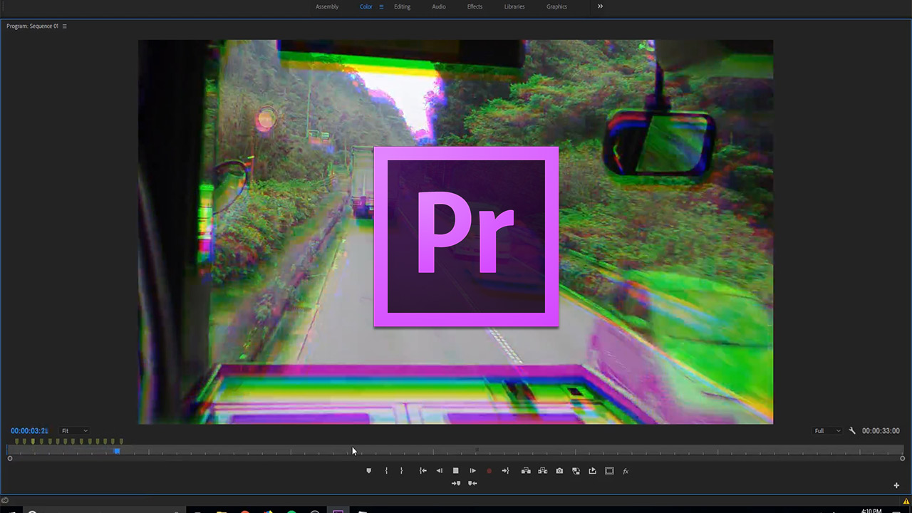 How to Create a RGB Glitch Effect Tutorial in Premiere Pro CC (2018