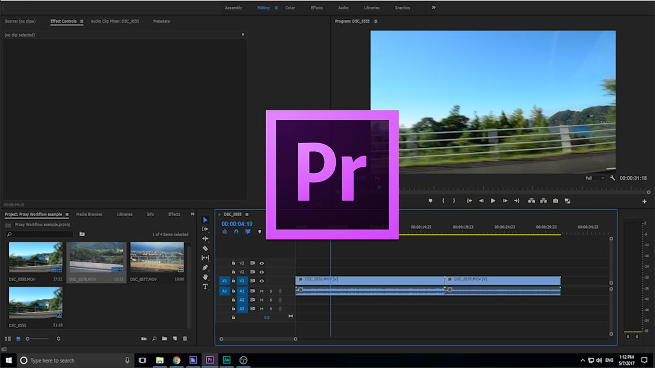 How To Proxy Edit in Premiere Pro CC (2018) - AdobeMasters