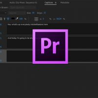 How to Create Captions and Subtitles in Adobe Premiere Pro CC