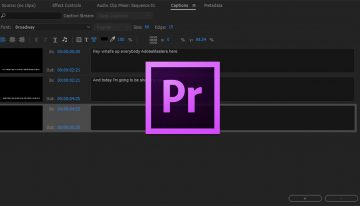 Create Captions and Subtitles in Adobe Premiere Pro CC