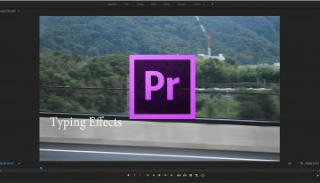 How to Create a Typing Animation in Adobe Premiere Pro CC (2018)