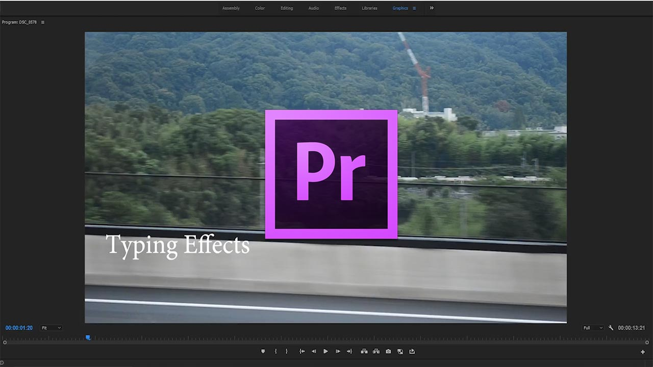 How to Create a Typing Animation in Adobe Premiere Pro CC