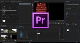 How to Create Scrolling Credits in Adobe Premiere Pro CC 2018 with the Roll Feature.