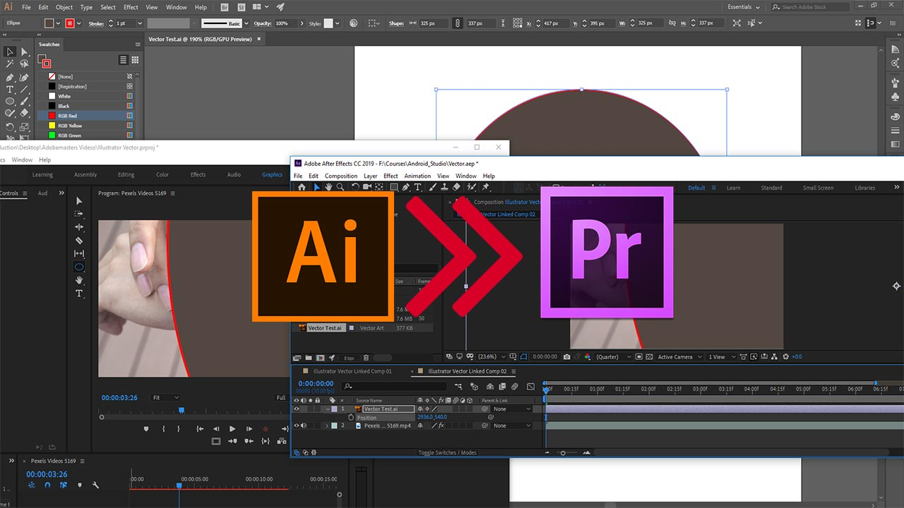 How to Import Illustrator Files in Adobe Premiere Pro CC - AdobeMasters