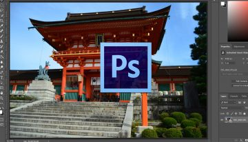 How to Remove People from Images with Median Stack in Adobe Photoshop CC